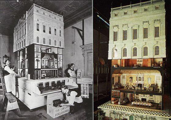 Королеве Марии было 57 лет, когда она получила этот домик