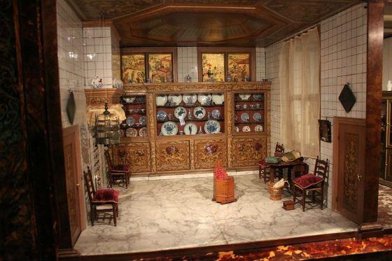 Одна из комнат домика Петронеллы Ортман
