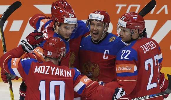 Россия обыграла США на ЧМ по хоккею, завоевав третье место чемпионата