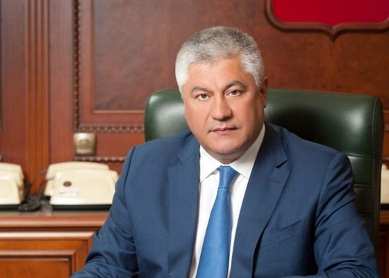 Vladimir Kolokoltsev built a successful career in the internal organs