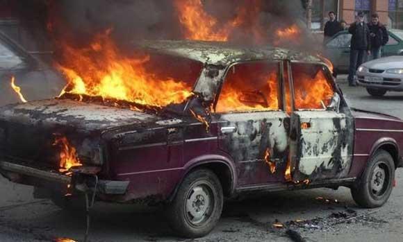 В Хабаровском крае ребенок сгорел в автомобиле ВАЗ