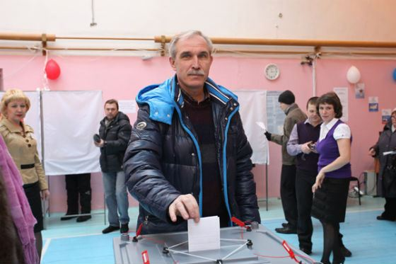 Sergey Morozov in the presidential elections of the Russian Federation