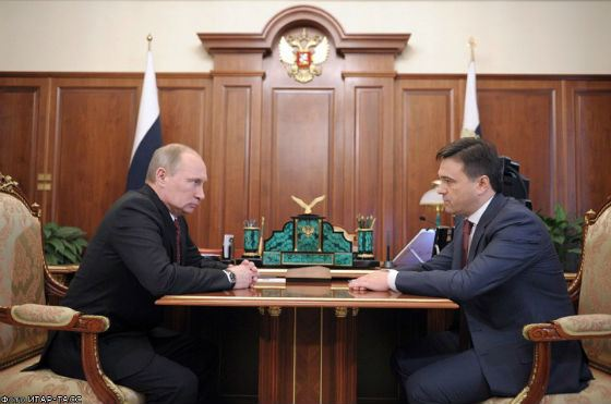В конце 2012 года Путин назначил Воробьева ВрИО губернатора МО