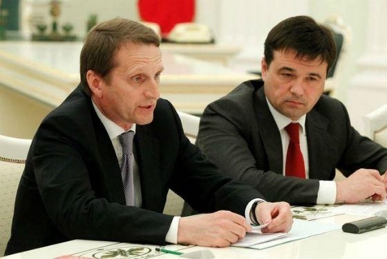 2007 год: Андрей Воробьев – руководитель фракции «Единая Россия»