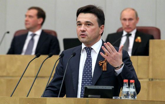 2011 год: Андрей Воробьев вошел в состав Госдумы VI созыва