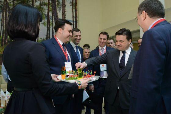 Андрей Воробьев на открытии международного форума «ОвощКульт»