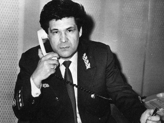 Губернатор Кемеровській області Аман Тулєєв