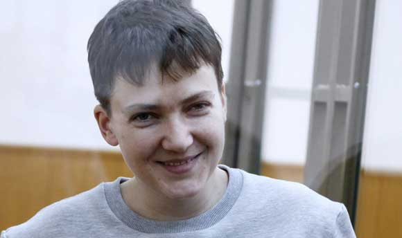 СМИ: Надежда Савченко должна отправиться домой в ближайшее время