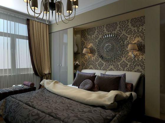 Для спальни выбирают спокойные тона