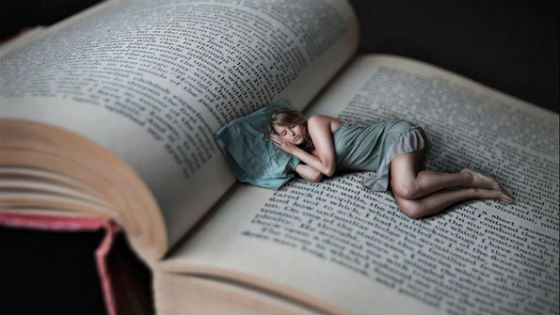 Неинтересная книга поможет уснуть