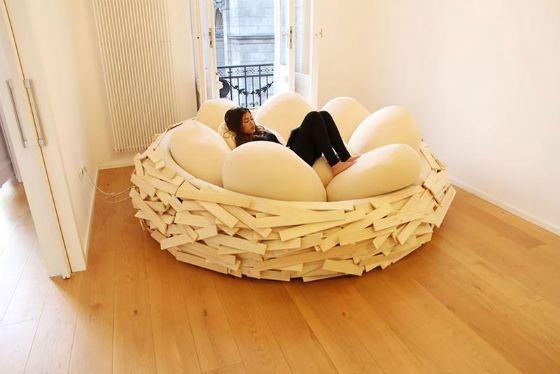 Кровать должна быть уютной, как гнездышко