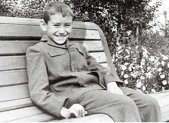 Rustem Khamitov: school photo