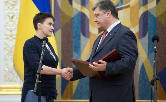 Надежда Савченко заявила, что может стать президентом, если это потребуется