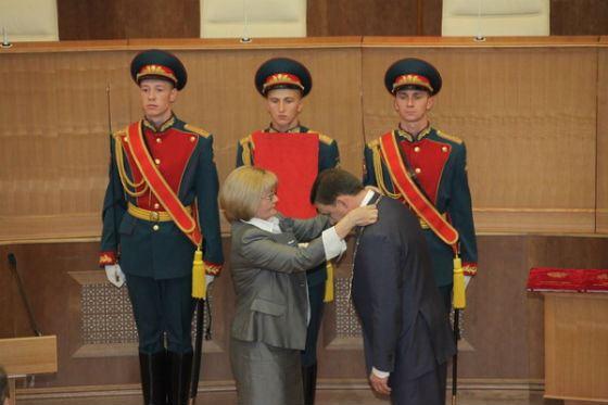 Inauguration of Evgeny Kuyvashev