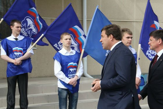 Yevgeny Kuyvashev has been with United Russia for many years.