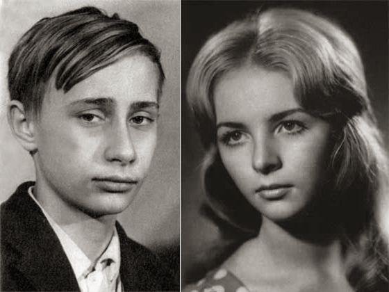 3. Владимир и Людмила Путины в молодости