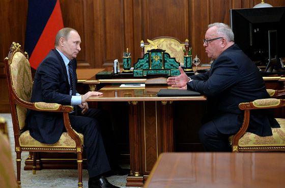 Рабочая встреча главы Алтайской Республики и Владимира Путина