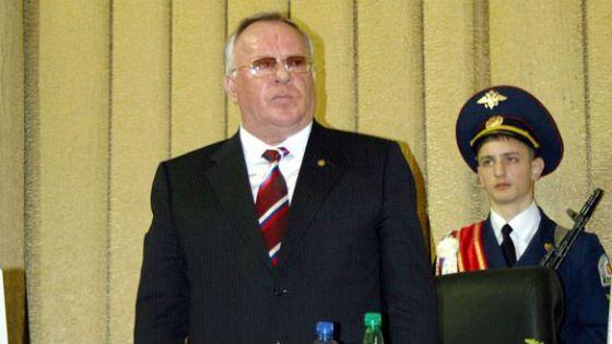 Карьера Александра Бердникова началась в МВД