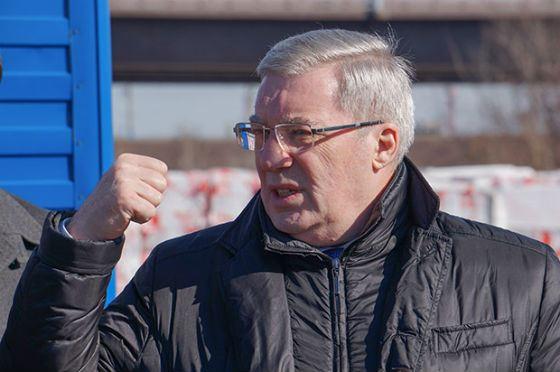 Виктор Толоконский инспектирует стройку «Платинум-Арены»