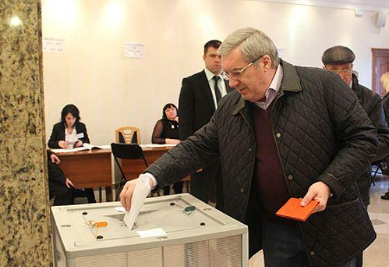 2014 год: Виктор Толоконский на выборах мэра Новосибирска