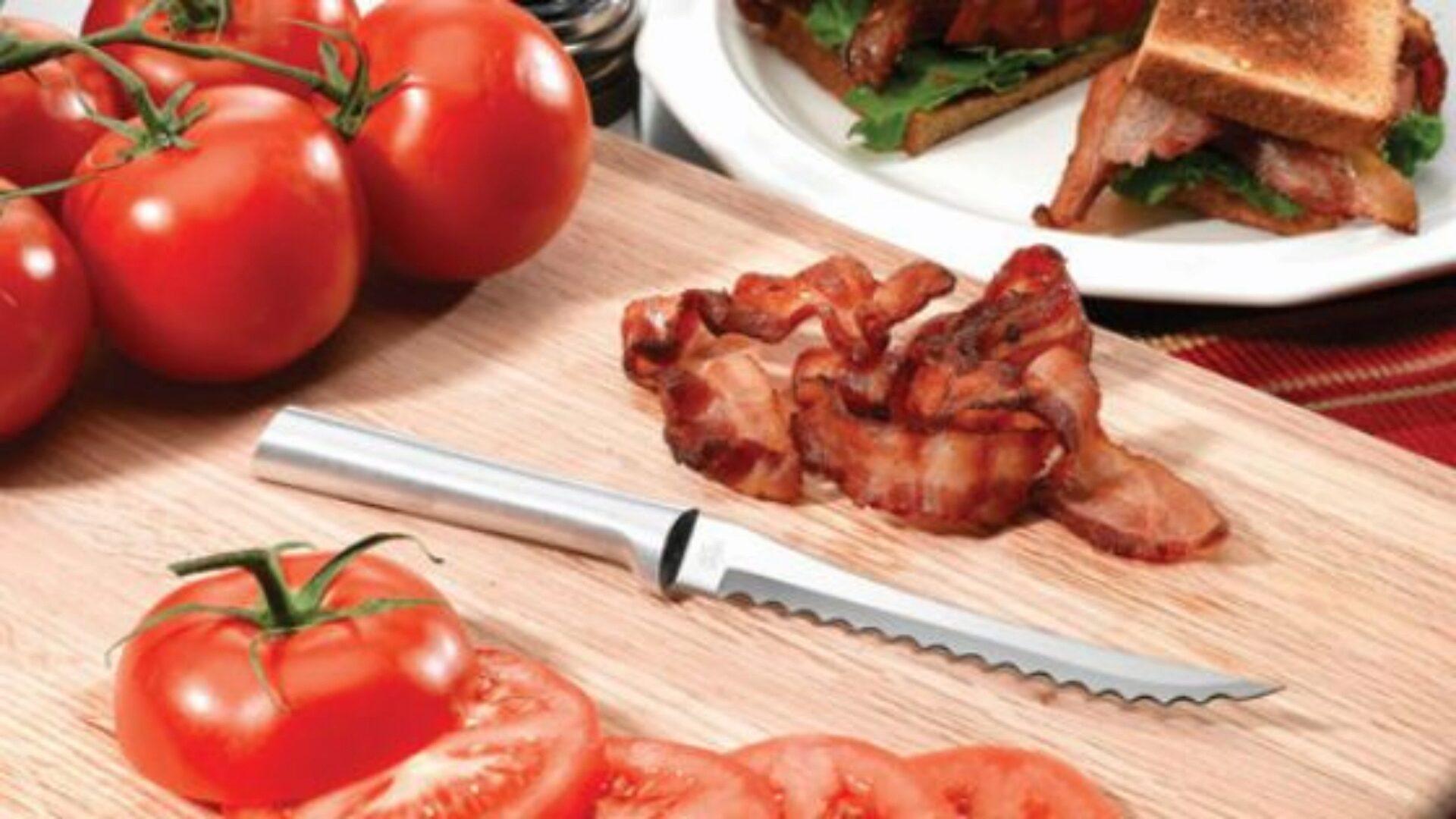 Ножи для томатов лучше не точить