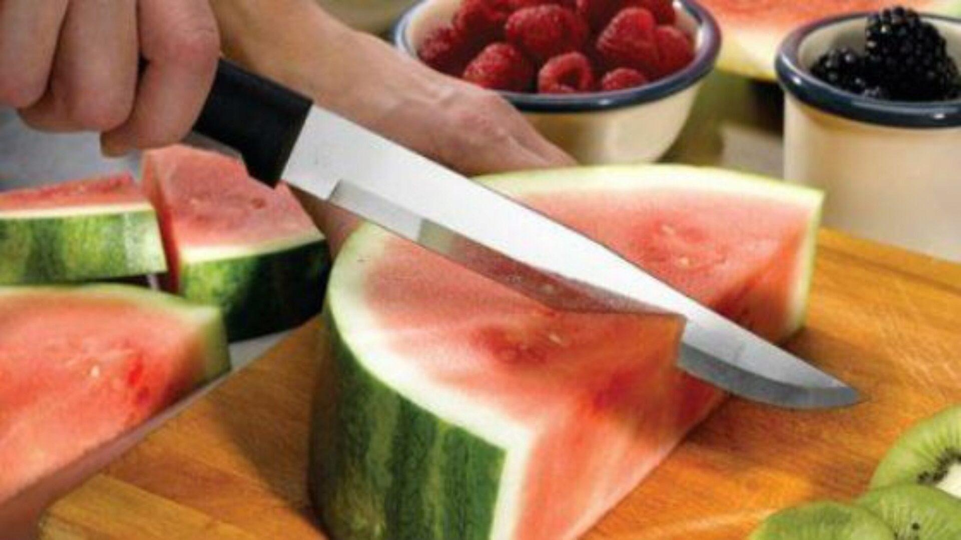 Нож должен быть острым и удобным