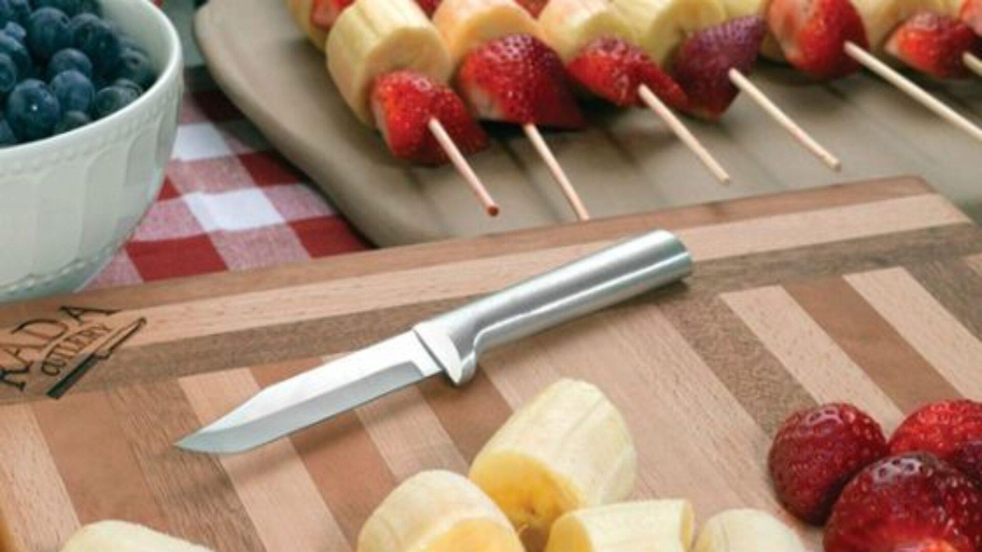 Острый нож упрощает приготовление пищи