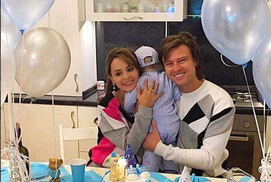 Прохор Шаляпин и Анна Калашникова отмечают день рождения Дани