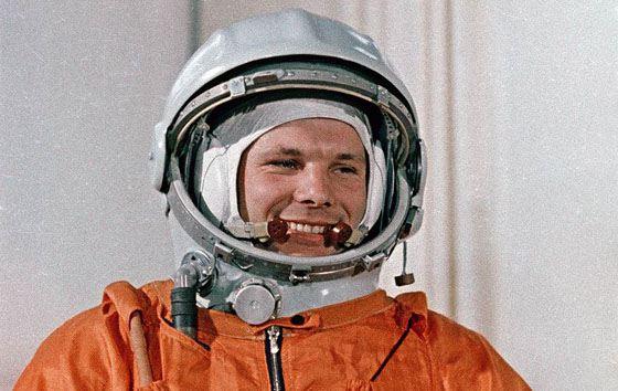 Юрий Гагарин - первый человек, полетевший в космос