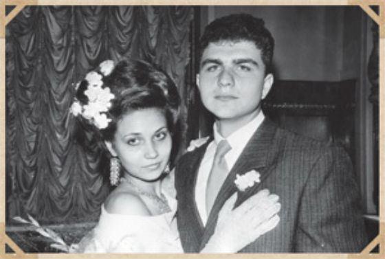 Молодой Вадим Потомский с супругой