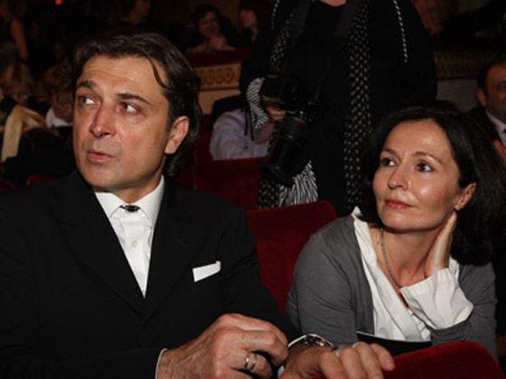 Александр Лазарев-младший с женой