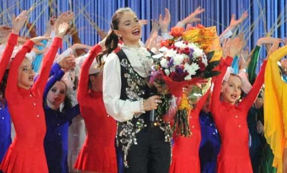 Алина Кабаева открыла фестиваль своего имени