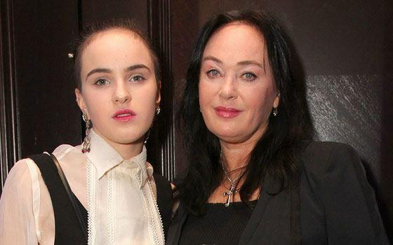 Лариса Гузеева  с дочкой Олей