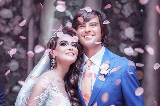 Прохор Шаляпин с Анной Калашниковой на репетиции несостоявшейся свадьбы