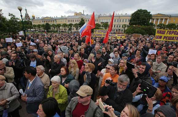 Петербуржцы недовольны решением о мосте имени первого президента Чечни