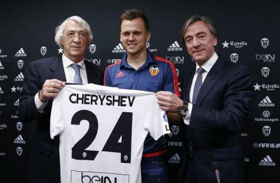 В Валенсии Денис Черышев играет под номером 24