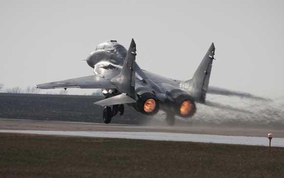 МиГ-29 разбился в Московской области