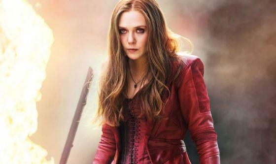 Ведьма Ванда из «Мстителей» – актриса Элизабет Олсен