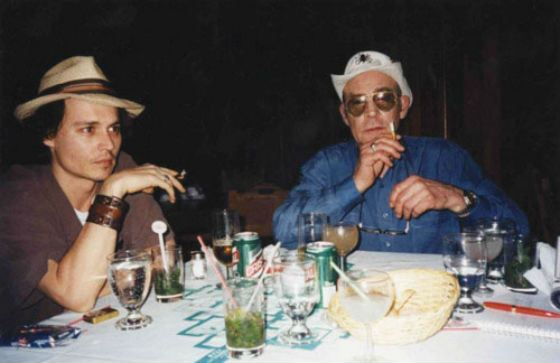 Johnny Depp and Hunter Thompson