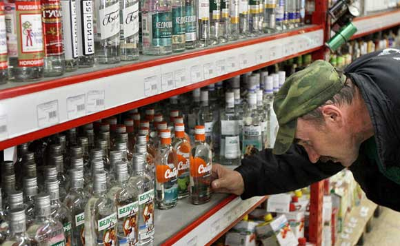 С 13 июня в РФ поднимается минимальная цена водки