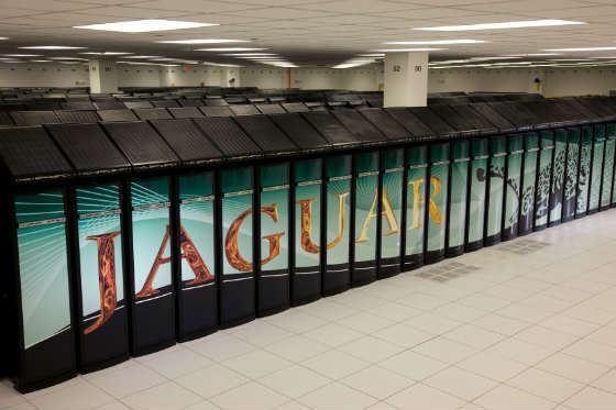 Так выглядел один из самых мощных компьютеров в мире – Jaguar