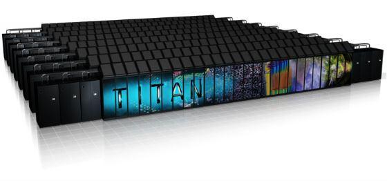 Американский суперкомпьютер Titan