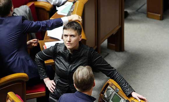 Надежда Савченко не скрывает президентских амбиций
