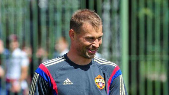 CSKA defender Alexei Berezutsky