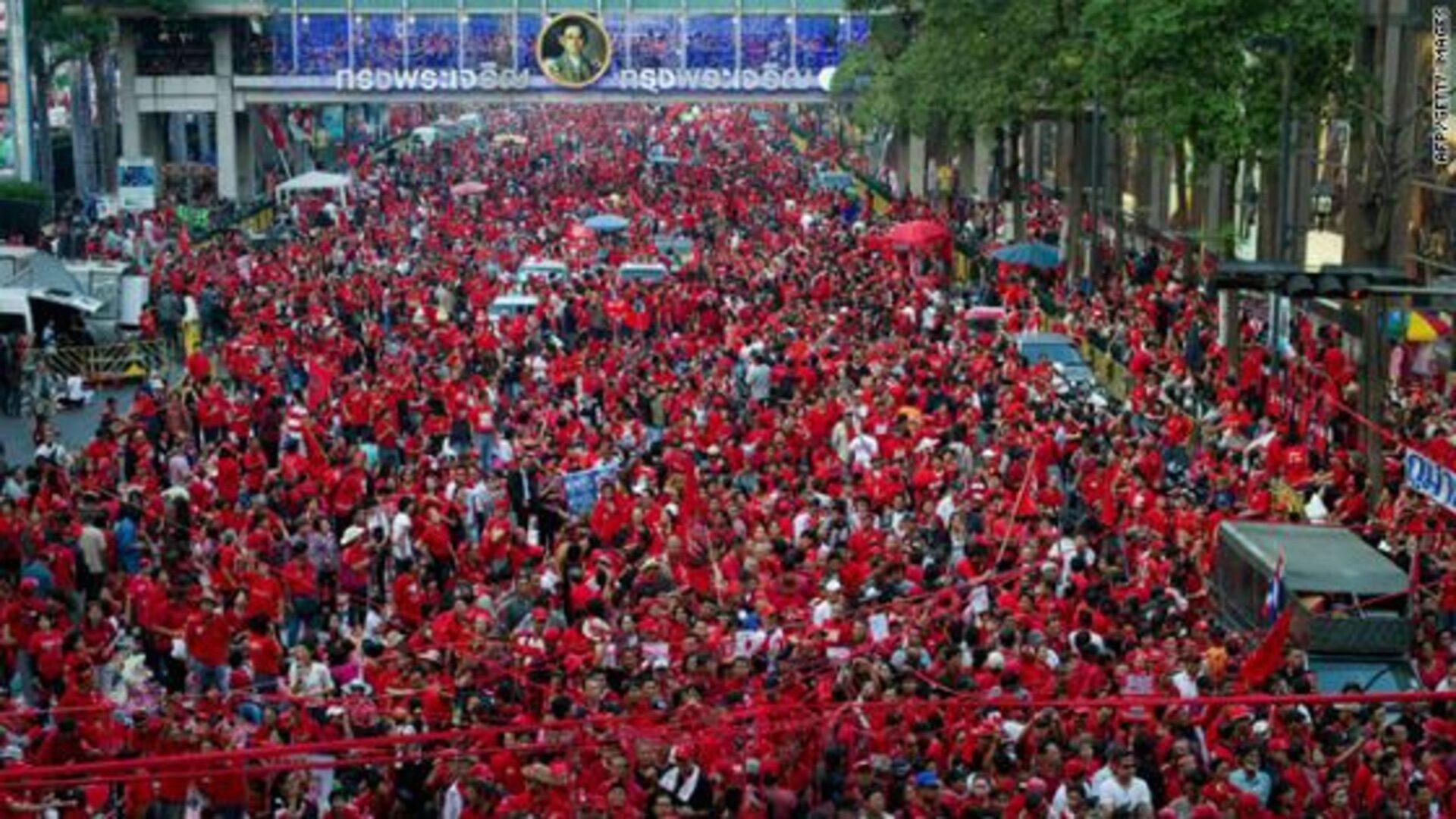 Революция красных рубашек в Тайланде