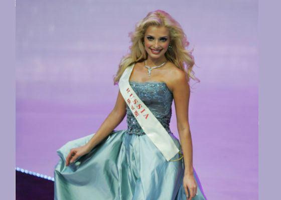 Татьяна Котова получай «Мисс Мира-2007»