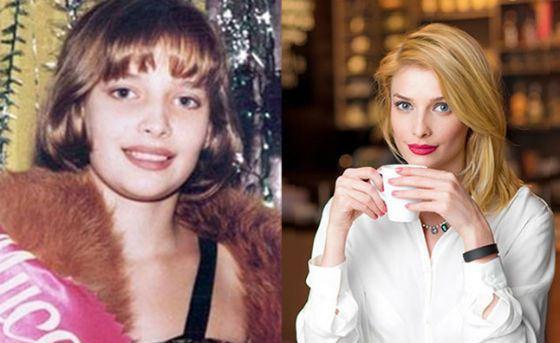 Слева – Танюта Котова во 03 лет; первая достижение нате конкурсе красоты
