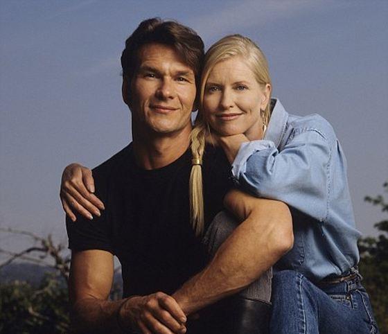 Патрик Суэйзи с женой Лизой