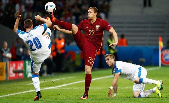 Россия проиграла Словакии в Лилле