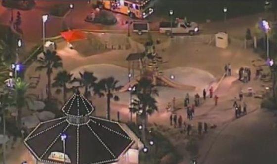 Парк, где произошла трагедия